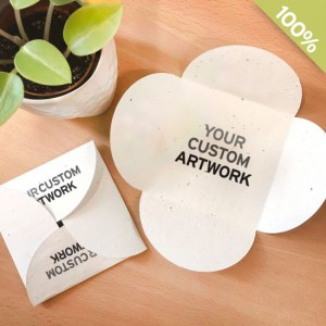 Promotional-eco-seed-paper-petal-cards