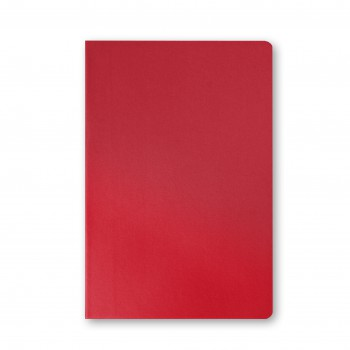Promotional-eco-biodegradable-notebook-Red - Front