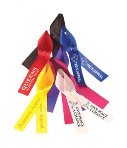 fund-raising ribbon