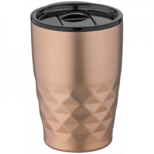 geo copper travel mug