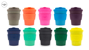 8oz ECoffee cup with silicone grip in many colours