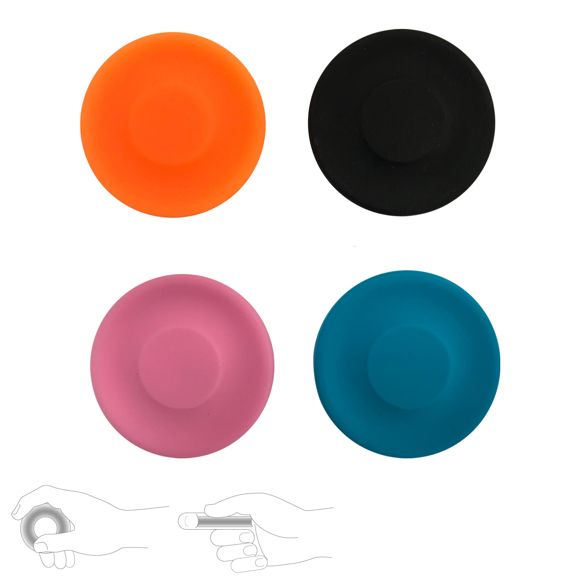 Mini Long Distance Frisbee Silicone in various colours