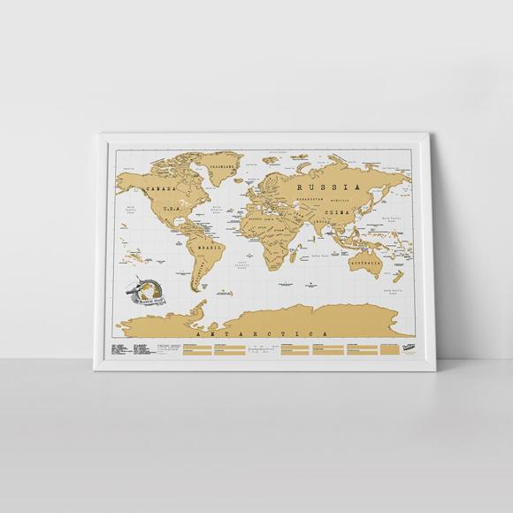 original sized scratch map
