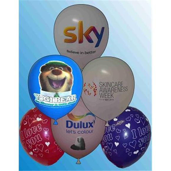 6 12 inch latex balloons