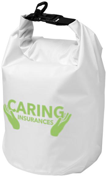 Waterproof Roll Down Bag White