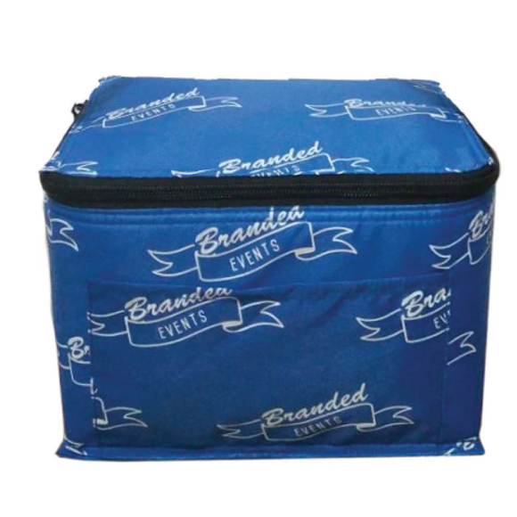 Small cooler bag with all over branding