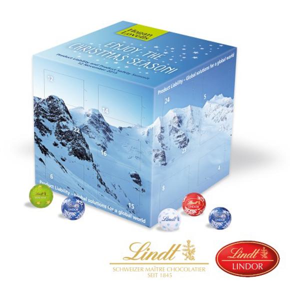 Lindt Advent Calendar Cube