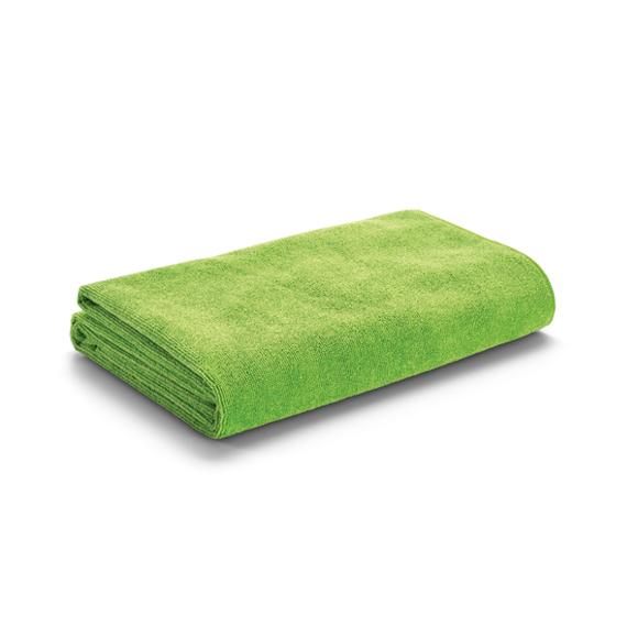 Beach towel in green