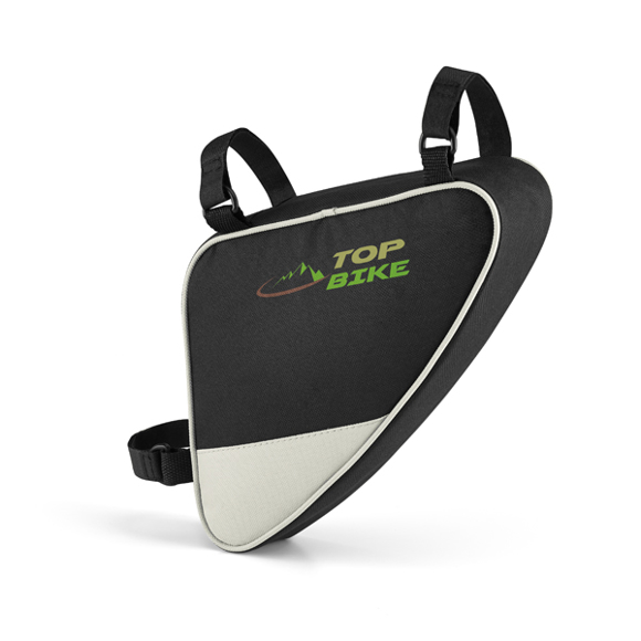 bike storage bag with 2 colour branding