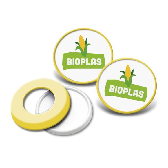 Picture of Bio-Plastic Pop Badge