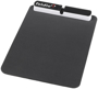 Black mouse pad with usb hub
