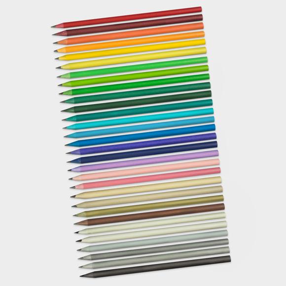 Chameleon Range of 30 different coloured pencils