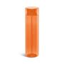Clear coloured bottle Orange
