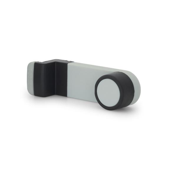 clip on phone dock white