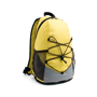 Turim Colourful backpack in yellow and grey with black details