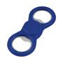 dizzy duo spinner with bottle opener in blue