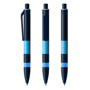 DNA Pen in black and blue