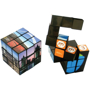 elastic cube toy with a full colour photographic design