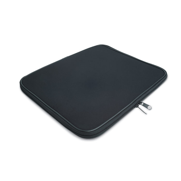 Black zip-up laptop case