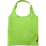 lime green foldaway shopping bag