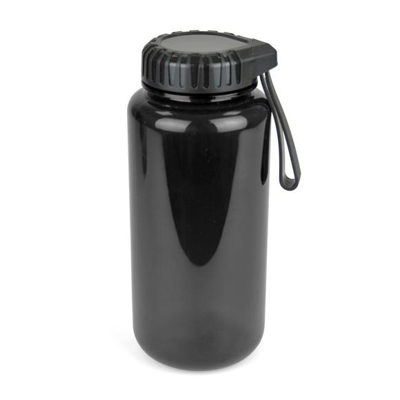 Gowing Sports bottle black body black lid