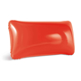 Inflatable pillow in red