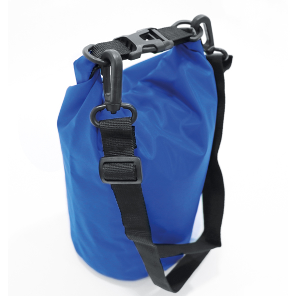 Large beach dry bag in blue