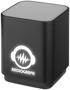 black lightup bluetooth speaker