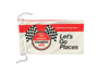 red and white microfibre sunglasses pouch