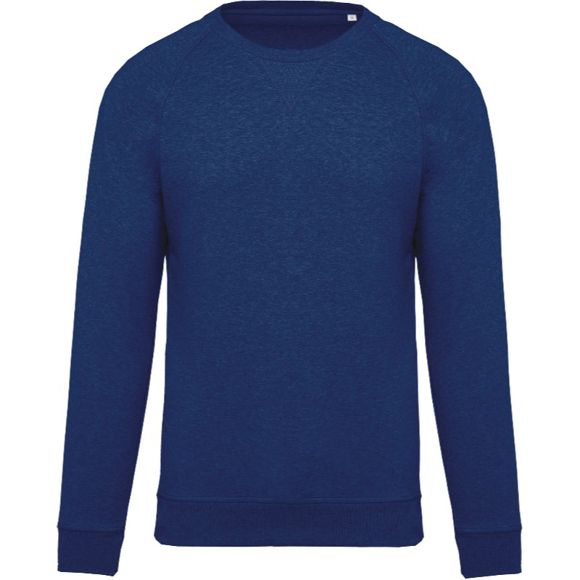 Organic Cotton Sweatshirt in blue