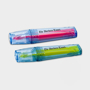 PET Highlighter Pen in pink and yellow with 1 colour print logo