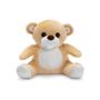 cream plush toy bear