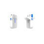 Pokkit Duo USB Charger in white and blue