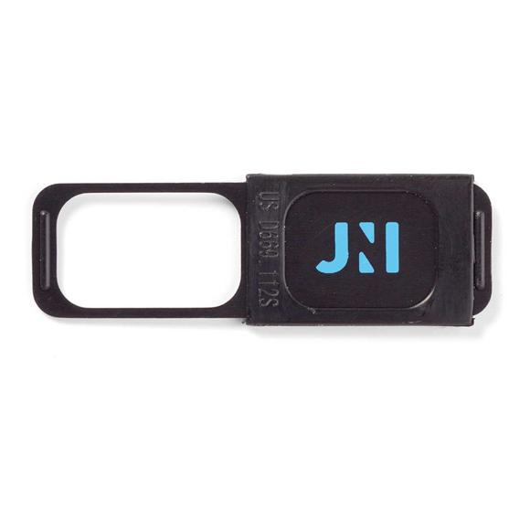 Sliding Webcam Cover in black with 1 colour print logo