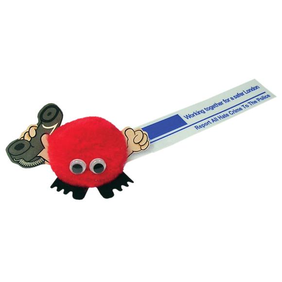telephone bug sticker