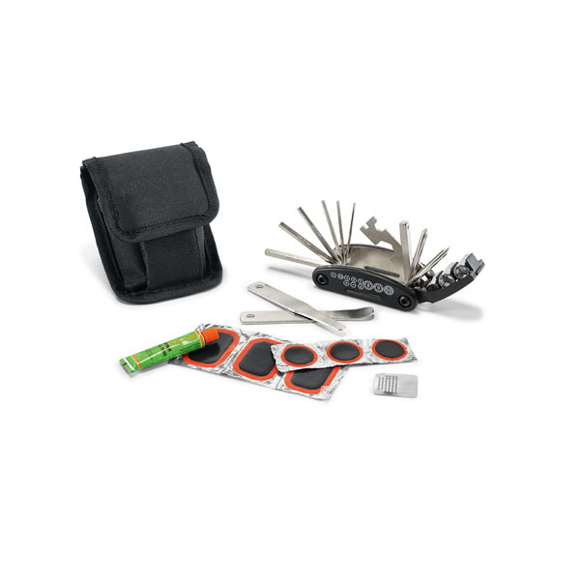contents of the tool set for bicycles