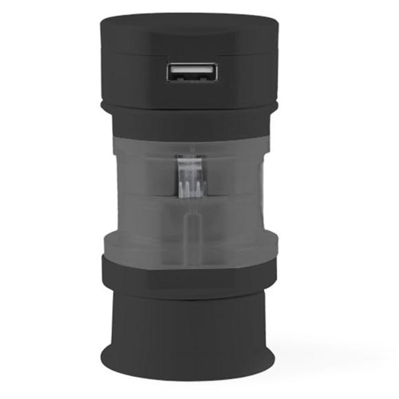 Tribox Travel Adaptor Black