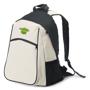 Vintage Beige Backpack with 3 colour logo