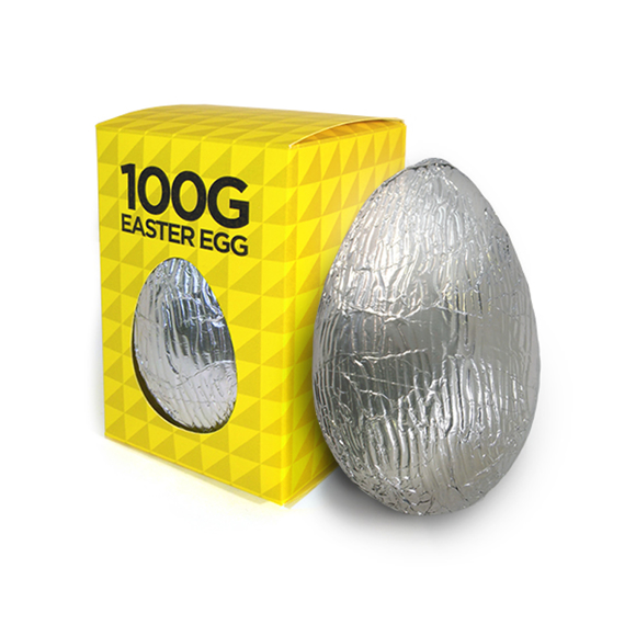 Chocolate Easter Egg in branded box