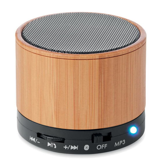Picture of Bamboo Bluetooth Speaker