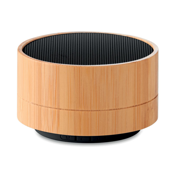 Picture of Bamboo Bluetooth Speaker with Light
