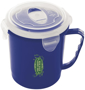 clip lock  blue billy pot with corporate logo