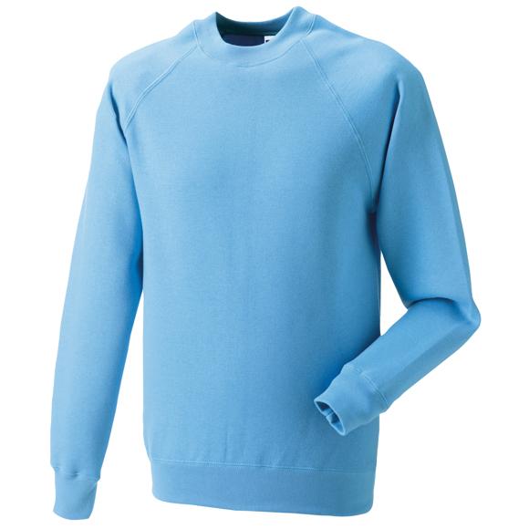 Classic Sweatshirt in light blue with crew neck