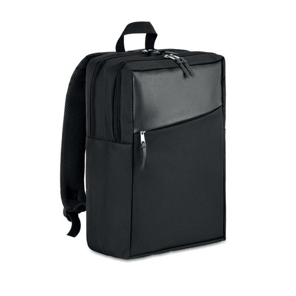 """Zagreb 13"""" Computer Backpack  in black"""