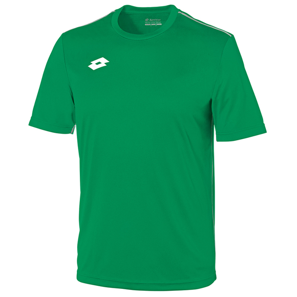 Delta Jersey - Short Sleeve Shirt in green with 1 colour print logo right hand side of chest