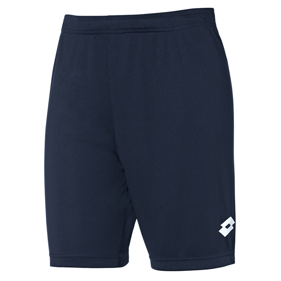 Delta shorts to match Delta jersey in navy with 1 colour print on left hand side of left leg