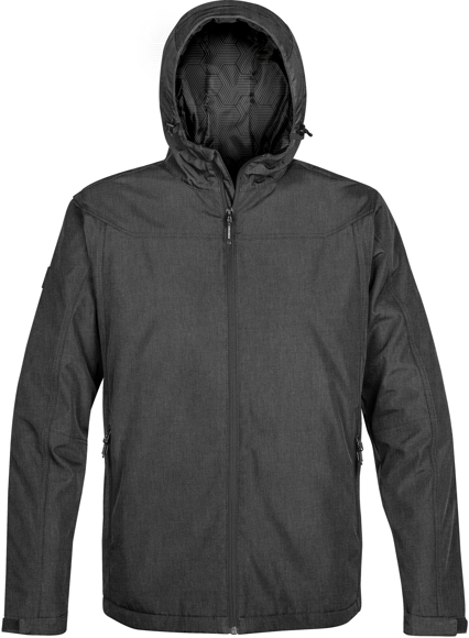 Endurance Thermal Softshell in grey with full zip and hood