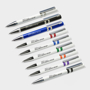 ballpen made from recycled cd case in range of colours