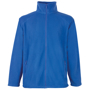 FOTL Full Zip Fleece in blue with self-coloured zips to front and pockets