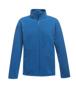 Full Zip Microfleece in blue with 2 zipped lower pockets